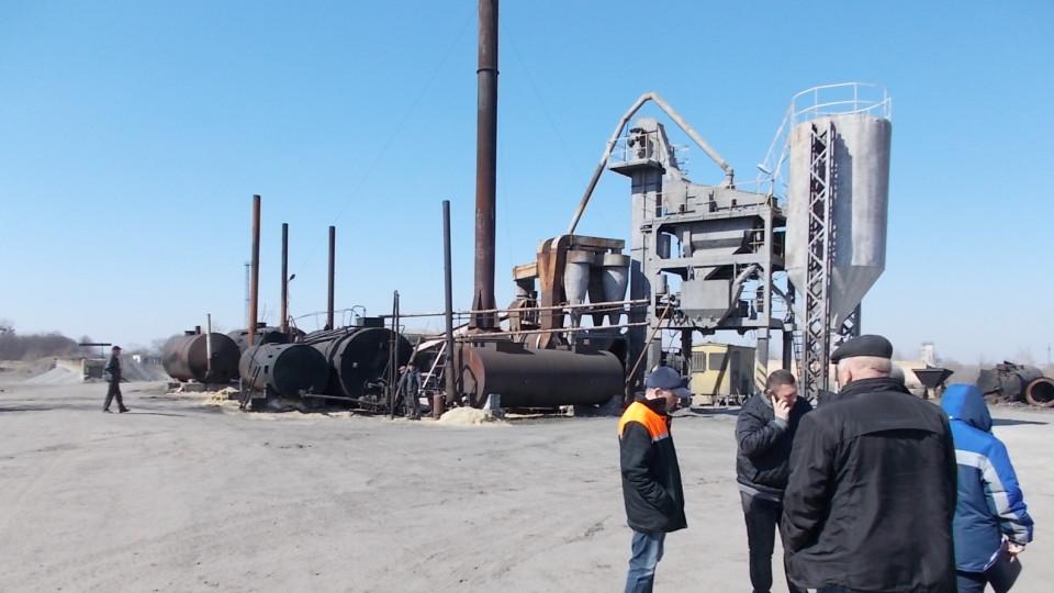 На Волині почав роботу асфальтобетонний завод. За день виготовили 70 тонн суміші. ФОТО