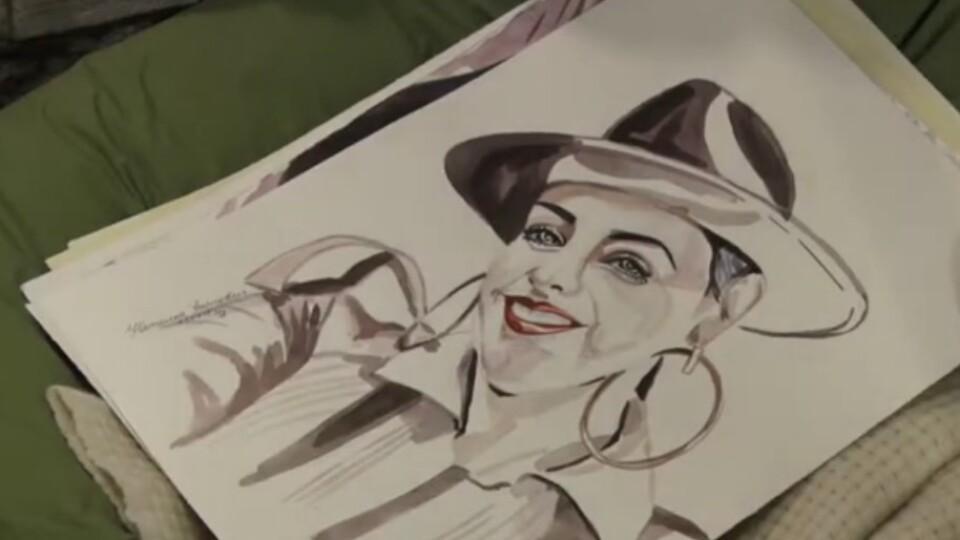 По портрету щодня: волинська художниця вже понад 130 днів не випускає пензлик із рук