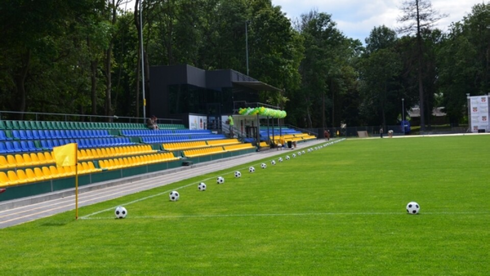 «Луцькводоканал» планує збудувати спорткомплекс з відкритим стадіоном