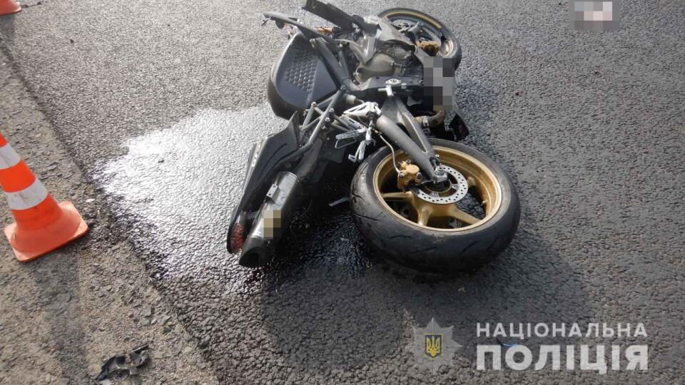 На Волині 19-річний мотоцикліст розбився на смерть