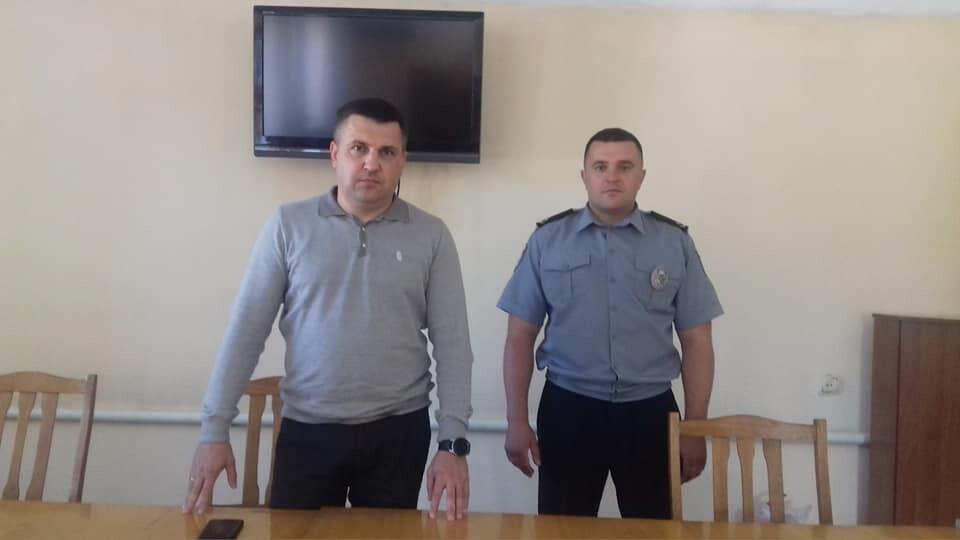 Представили нового керівника Локачинського відділення поліції