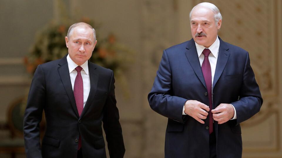 Путін заявив, що готовий разом з Лукашенком «реагувати на загрози»