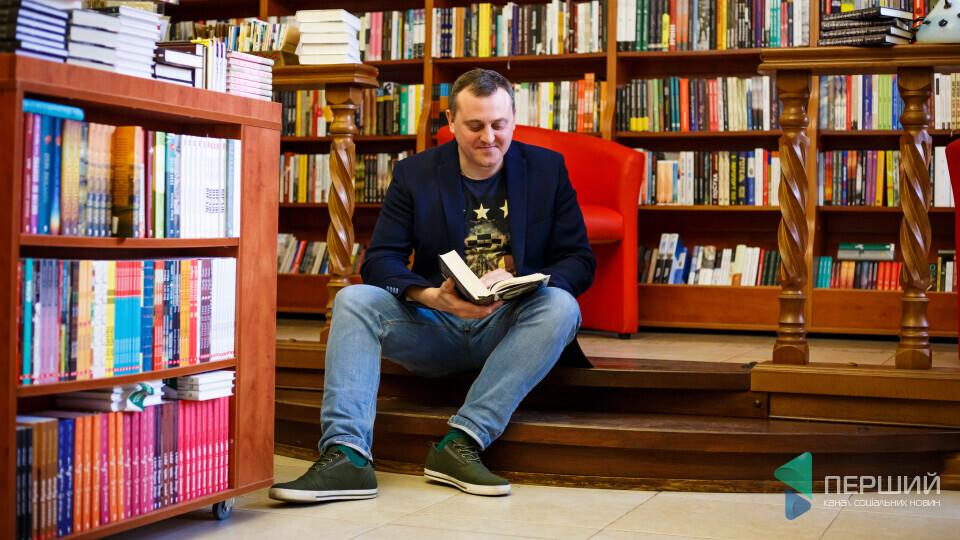 Андрій Осіпов привіз до Луцька нову книгу про кохання. Планує зняти серіал