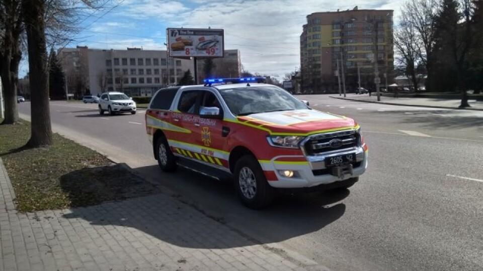 У Луцьку буде їздити авто, яке нагадуватиме про небезпеку COVID-19