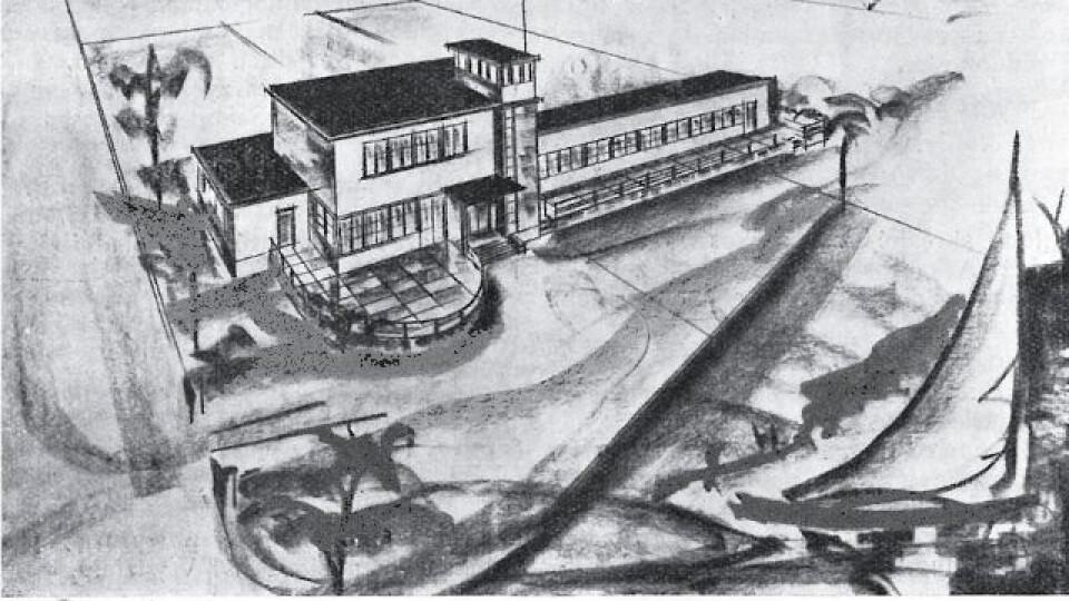 З панорамними вікнами і терасою: проект турбази на Світязі 80 років тому. ЗГАДАТИ ВСЕ