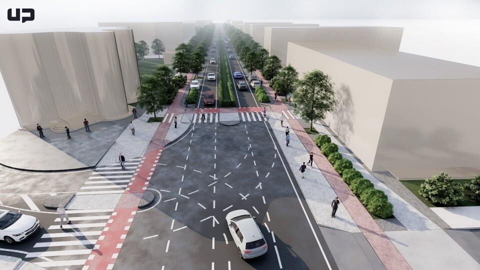 Як можуть змінити проспект Грушевського у Луцьку