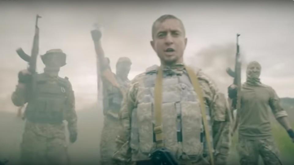 Боєць АТО з Волині «Абдула» зняв кліп на власну пісню. ВІДЕО