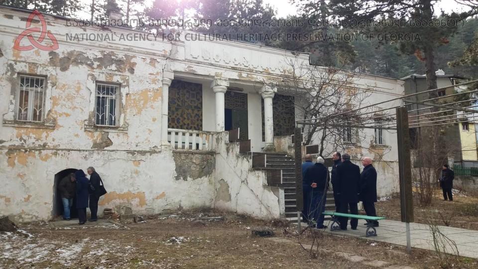 У Грузії відреставрують дім-музей Лесі Українки