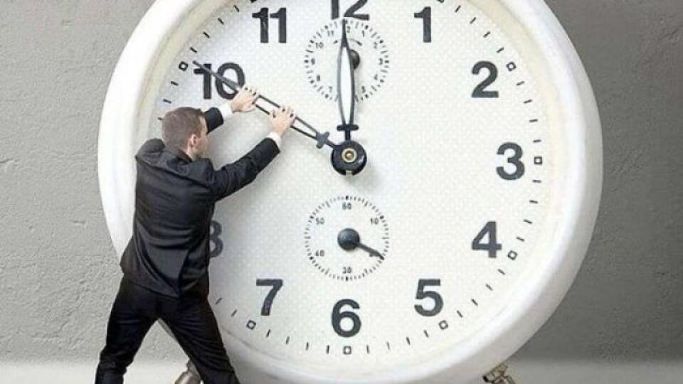 Переходимо на зимовий час. 27 жовтня стрілки годинника переведуть назад