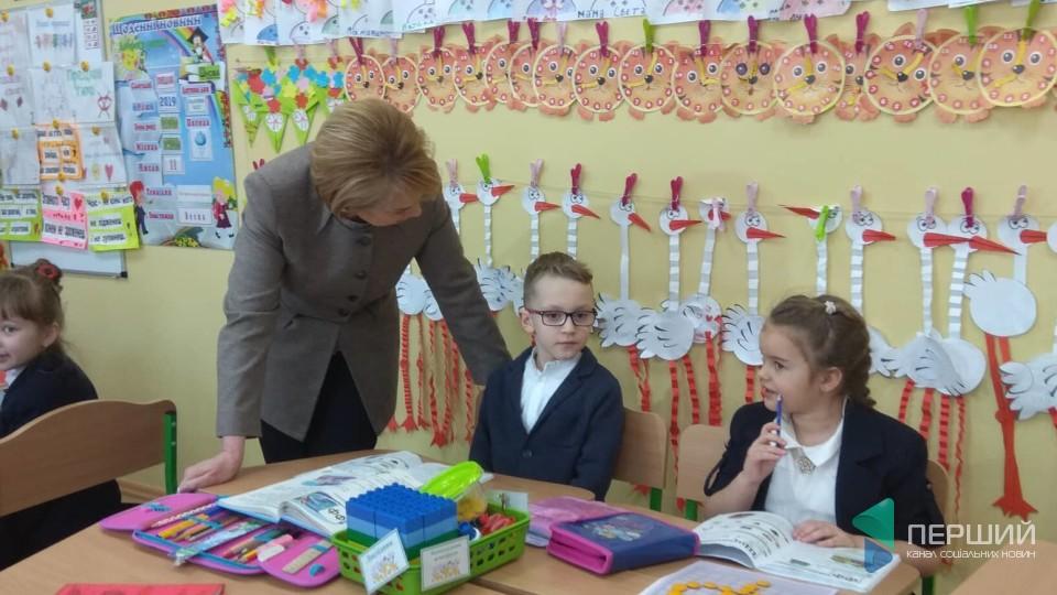 Міністр освіти Лілія Гриневич приїхала в Луцьк. ФОТО