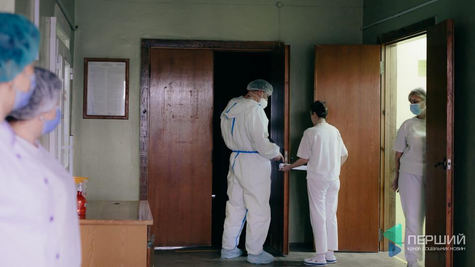 Вперше за кілька тижнів у «ковідному» шпиталі в Боголюбах побільшало хворих