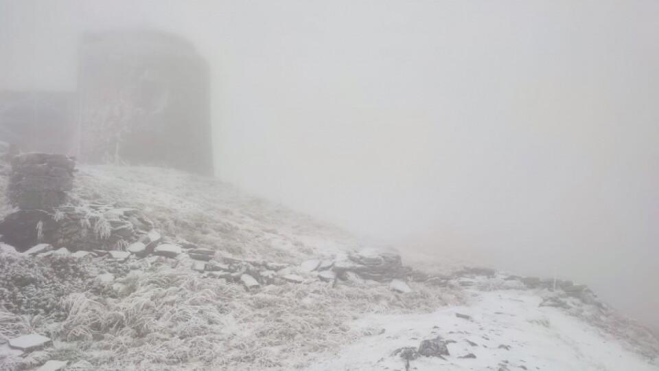 У Карпатах сніг і заморозки