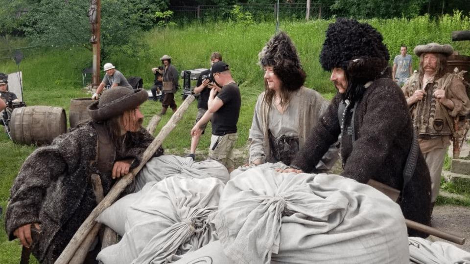 Кіностудія «Волинь» брала участь у зйомках нового фільму Олеся Саніна