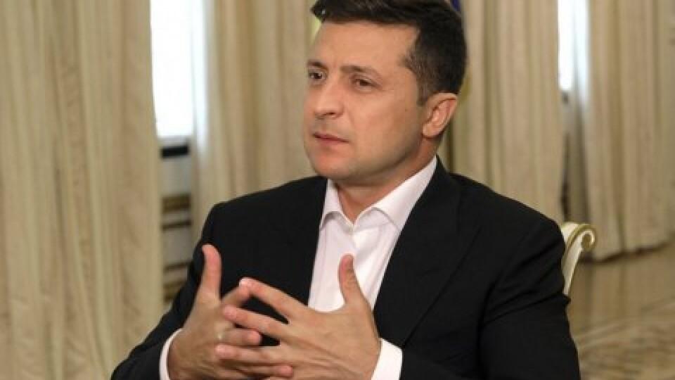 Володимир Зеленський озвучив перше питання всенародного опитування