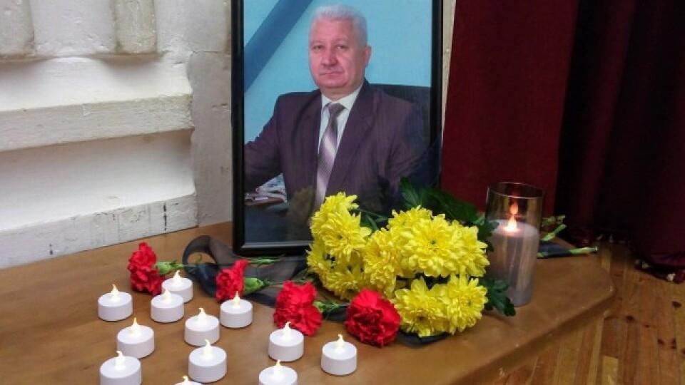 У Луцьку вшанували пам'ять директора Палацу учнівської молоді Степана Сидорука