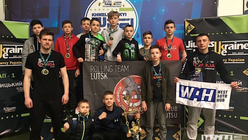 Луцькі бійці привезли  10 нагород з  всеукраїнських змагань з джиу-джитсу. ФОТО