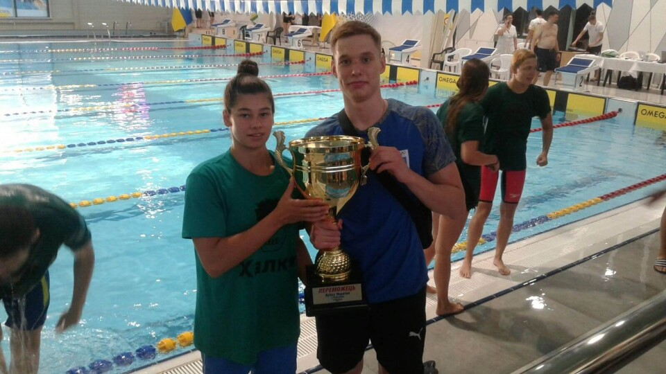 Волинські плавці здобули низку медалей на кубку України