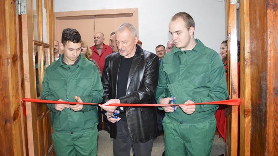 Савченко відкрив у Ковелі центр «дефіцитних» професій. ФОТО