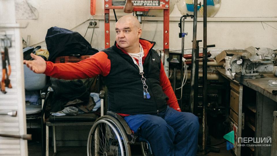 Кермувати без ніг. Як луцька автомайстерня допомагає людям з інвалідністю зі всієї України