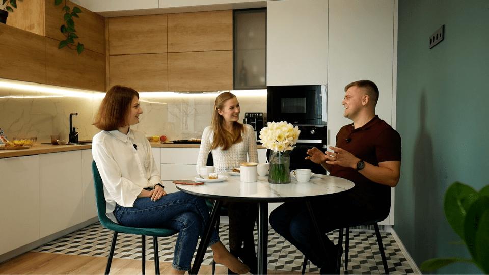 Яку кухню облаштували Олена і Сергій Григоренки. ВІДЕО