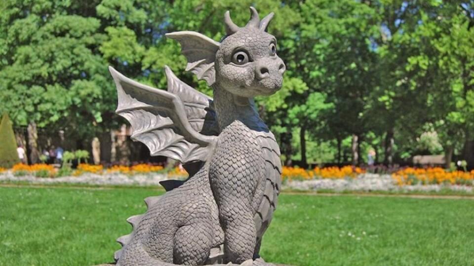 Дракончик супроводжуватиме туристів Володимира