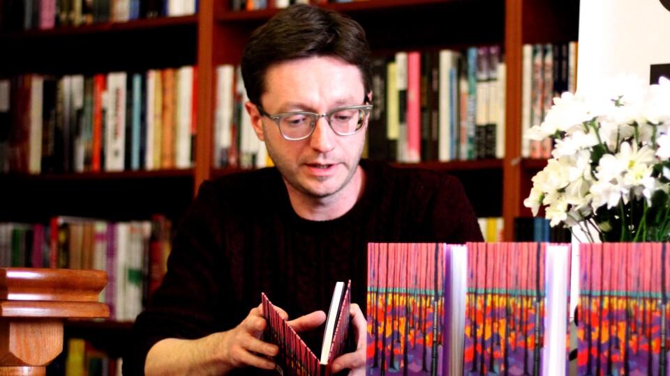 Остап Сливинський у Луцьку розповідав про культуру та читав поезію