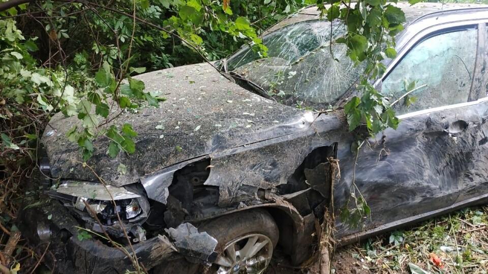 Біля Луцька перекинувся BMW X5. Загинув 43-річний лучанин, двоє дітей травмувалися
