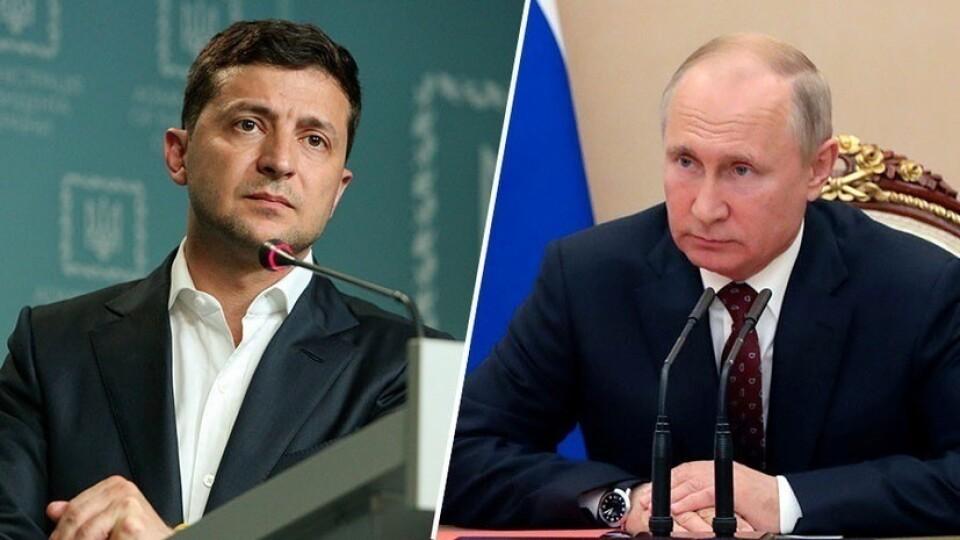 Путін висловив співчуття Зеленському через катастрофу українського літака