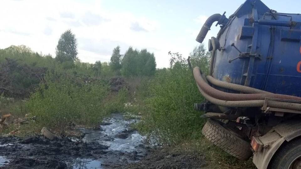У Ковельському районі незаконно зливали нечистоти