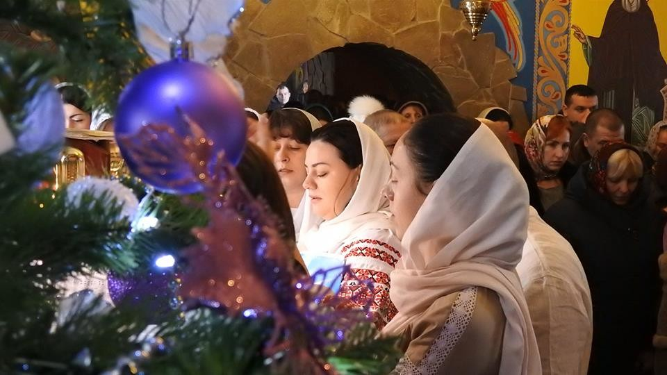 Різдво Христове у Жидичинському монастирі. ФОТО
