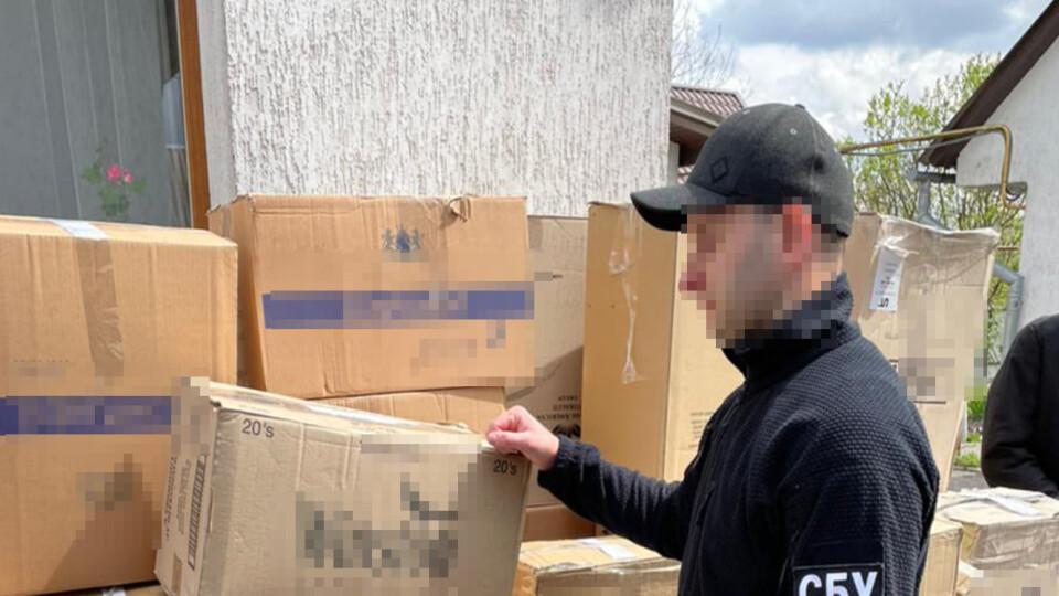 У Ковелі виявили склади з контрабандою на півтора мільйона