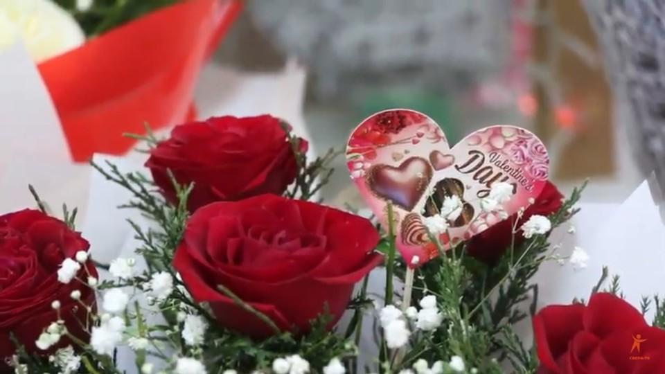 Луцьк – напередодні Дня святого Валентина. ВІДЕО