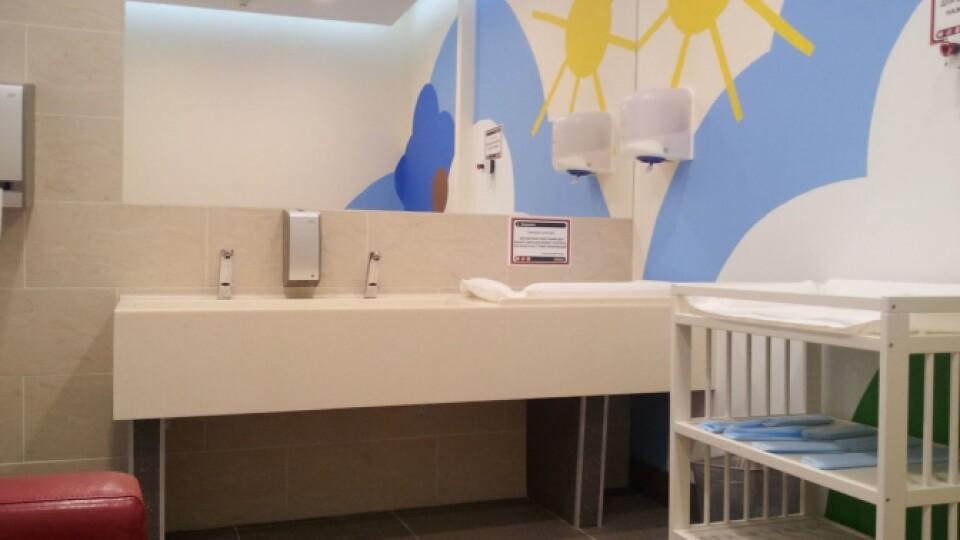 У Луцьку в Центральному парку просять зробити кімнату для матері та дитини