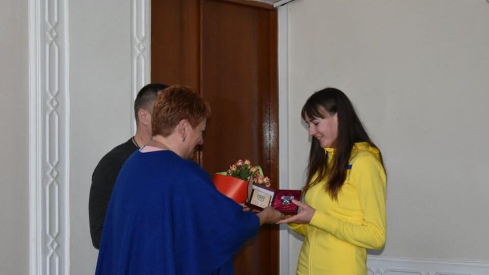 Волинським спортсменкам вручили ордени