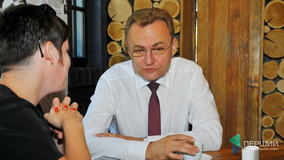 Андрій Садовий: «Комфорт мешканців для мене є на першому місці, а туристи – вже на другому»