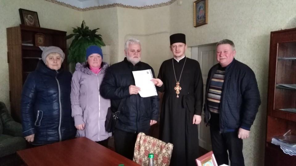 У П'ятиднях Володимир-Волинського району священик підтримав громаду