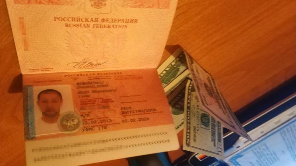 Росіянин, який їхав в Україну, хотів підкупити луцького прикордонника. ФОТО