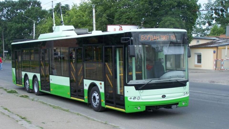 У Луцьку змінять рух тролейбусів №3 та №15а