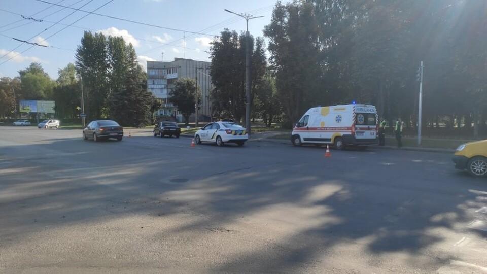 У Луцьку 7-річного хлопчика збила автівка