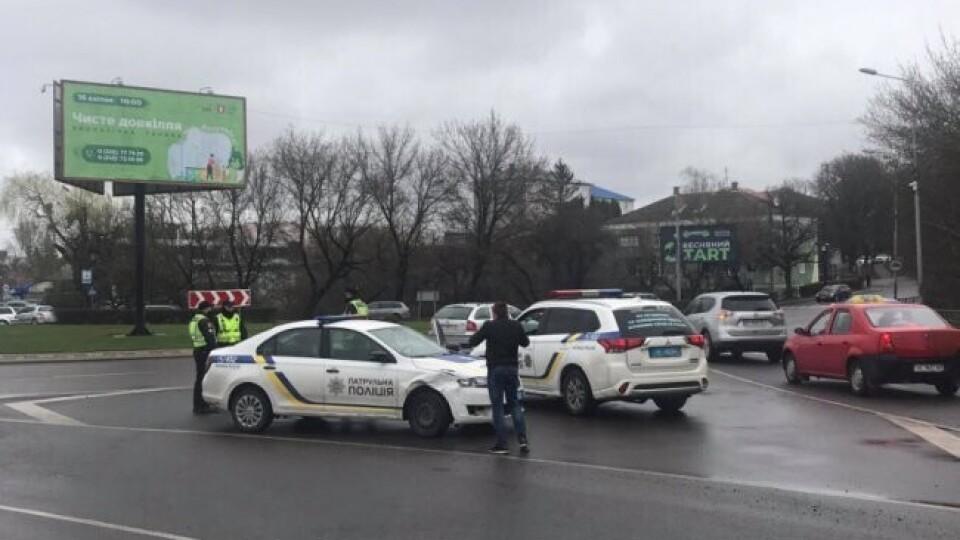 Показали відео ДТП з патрульними у Луцьку