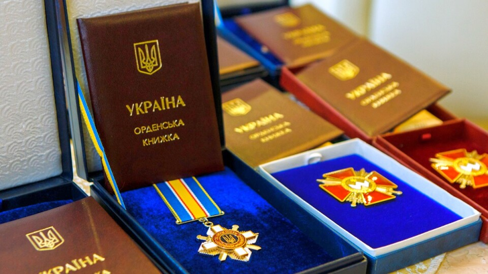 Порошенко посмертно нагородив трьох волинських Героїв, які загинули на Сході