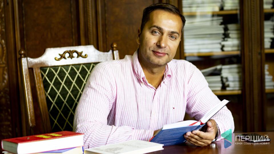 Луцьк читає. Книжкові пристрасті юриста і депутата Микити Рабана
