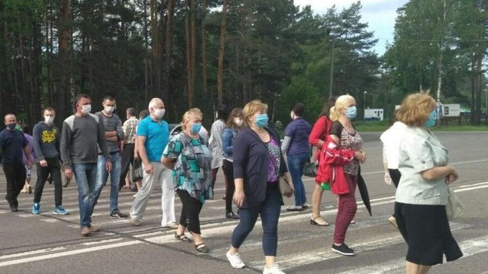 Протест проти укрупнення районів. Волиняни перекрили дорогу