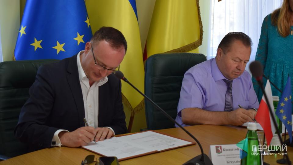 У Луцьку підписали угоду з представниками Любліна про спільну реставрацію історичних пам'яток. ФОТО