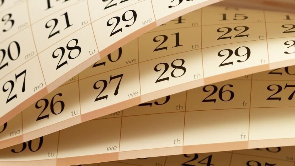 У січні українці матимуть 12 вихідних