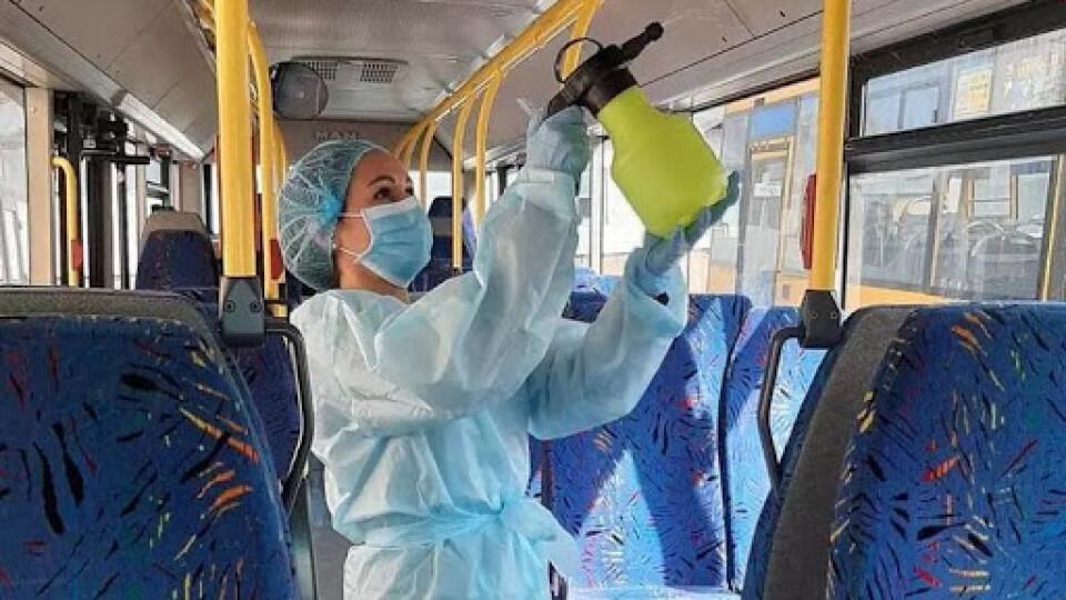 Розповіли, як у луцьких маршрутках і тролейбусах боротимуться з коронавірусом