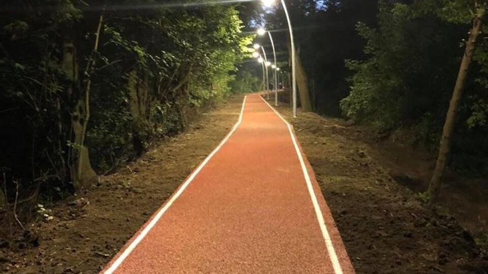 І для бігу, і для прогулянок. У Центральному парку Луцька відремонтували дамбу