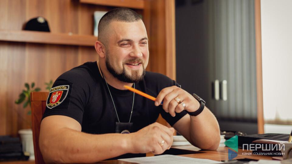 Скандальний керівник патрульної поліції Волині Вовченко повернувся і працює в Ковелі