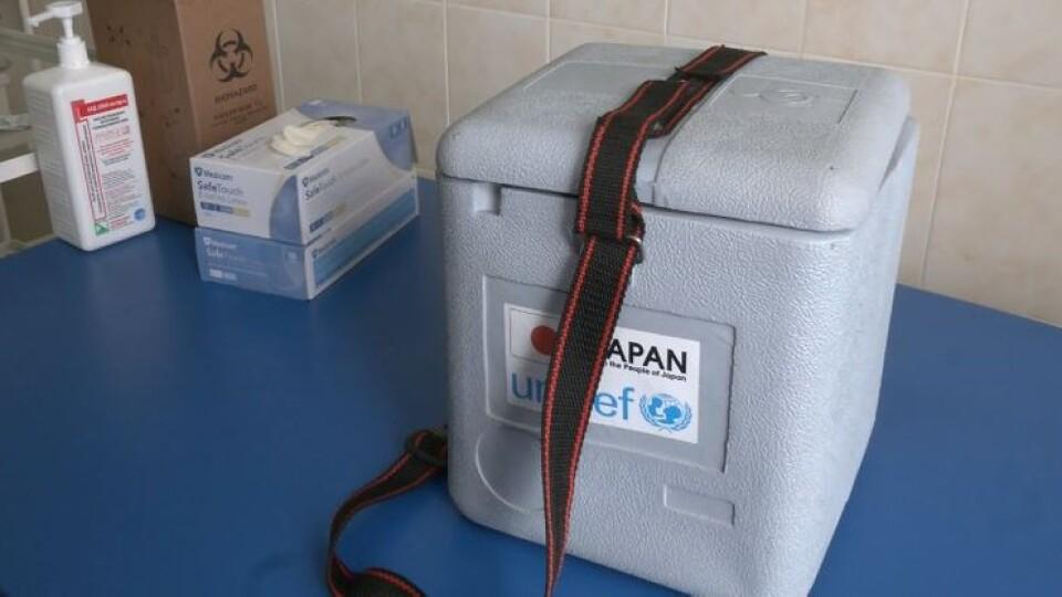 На Волинь прибула корейська COVID-вакцина AstraZeneca