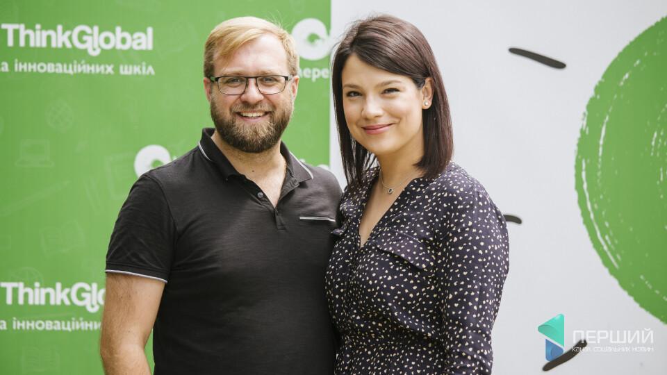 «Створюємо ідеальну школу для сина», – засновники «ThinkGlobal» Назар Михалюк та Лілія Данилюк